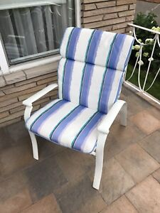 Patio chairs with cushions - Set of 6