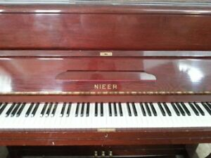 Upright Nieer piano