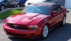 2012 Ford Mustang Premium Cabriolet convertible V6 auto 36000km