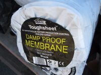 Toughsheet Black Damp Proof Membrane (4x25m) Top Quality Sheeting **BRAND NEW**