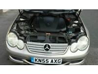 Mercedes benz 220cti sports coupes