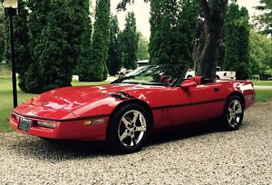 Best looking corvette under 20 k 1986 convertible corvette