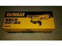 dewalt dwe 4206 angle grinder 115mm -110v. New