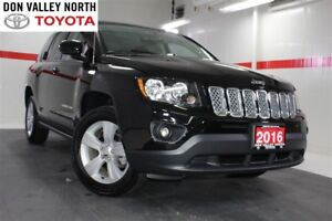 2016 Jeep Compass SPORT 4WD Btooth BU Camera Heated Front Seats