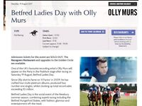 2x Tickets: Day at Newbury racecourse races with evening Olly Murs concert - Sat 19th Aug