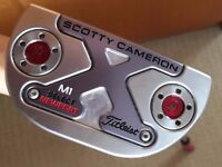 Titleist Scotty Cameron 2016 Select Newport M1 Putter Right Hand 34 inches