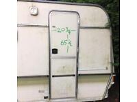 Caravan/ camper doors & frame