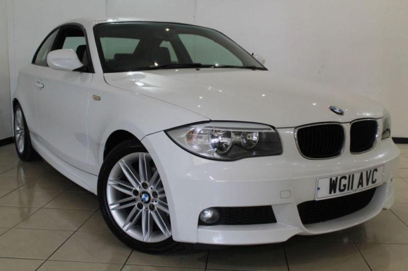 2011 11 BMW 1 SERIES 2.0 120D M SPORT 2DR 175 BHP DIESEL