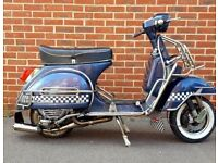 LML 2T 150 PORTED REG AS 125 VESPA BADGED