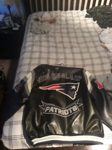Brand new New England patriots leather jacket
