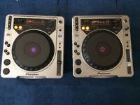 Pair Of Pioneer CD-J 800 Decks Used £230 o.n.o.