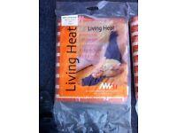 underfloor electric heating mats 2x new unused