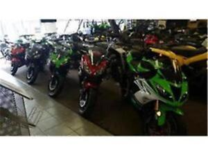 LOW RATES ON KAWASKI NINJA AND TOURING300 650 800 636 IN STOCK