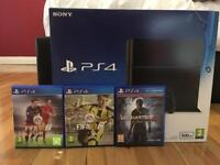 Sony PS4 + 3 games