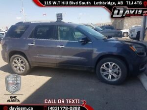 Used 2013 GMC Acadia SLT-1 AWD, Heated Leather, 7 Passenger