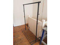 FREE STANDING CLOTHES RAILS FOR SALE