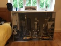 Free to collect large framed New York picture