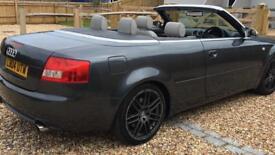Audi s4 Quattro convertible 2004 6 speed full cream leather