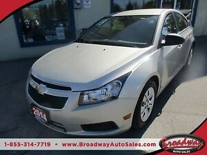 2014 Chevrolet Cruze 'GREAT KM'S' POWER EQUIPPED LT MODEL 5 PASS