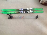 Childs Skis and poles