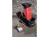 SOLD *** Champion 230V 2400W Electric Garden Shredder with bag, push rod and manual *** SOLD