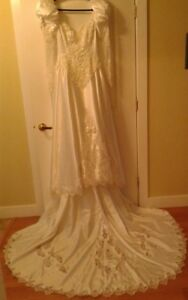 Gorgeous Wedding Dress with Loads of Bling