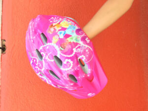 Girls bike helmet - princess- fits girl 4-8 years
