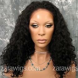 """Virgin Lace Front Curly Wig Indian 16"""""""
