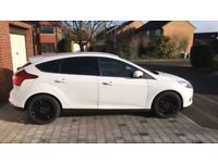 Ford Focus 1.0 (125) Titanium X with black alloys, tinted rear windows and custom exhaust