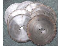 Circular Saw Blades - 7 * 11 ½ inch + 1 * 12 ½ Inch