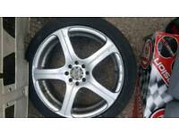 BK racing 17 inch 4x100 4x114 alloy wheels rims Honda integra eg ek ask lsi vti