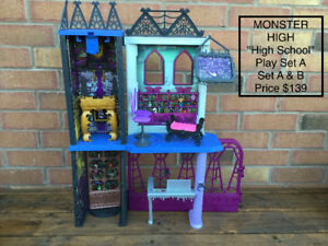 Halloween Monster High Play Sets & Dolls