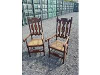 Stunning Pair Of Elegant Antique Chairs