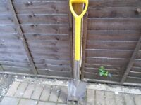 new stainless steel garden fork and spade in one