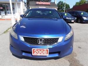 2008 Honda Accord EX-L Couple Auto Leather Sunroof Blue232,000Km