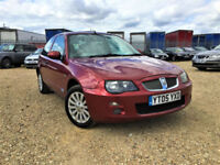 Rover 25 1.4 GLi 84ps Full leather interior AC Sunroof Delivery Px Swap welcome