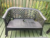 Garden bench / sofa / chair