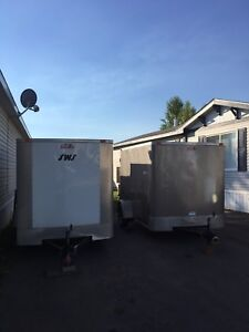 2 Utility Trailers