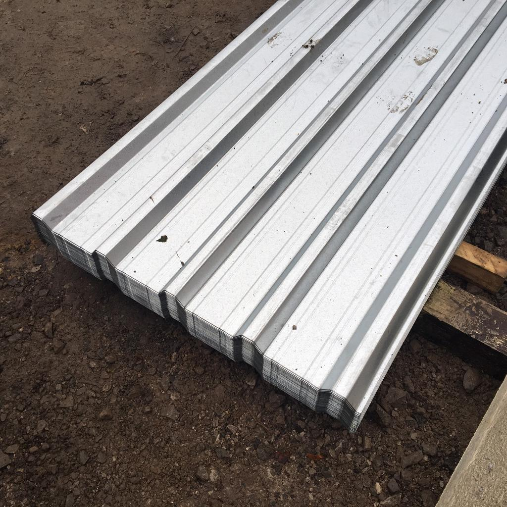 🔩GALVANISED BOX PROFILE ROOF SHEETS ~ NEW