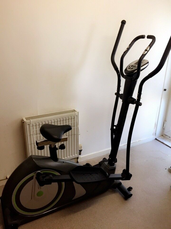 Cross Trainer/Exercise Bike 2 in 1