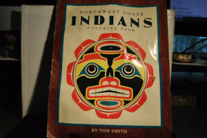 Old Northwest Coast Indians Coloring Book by Tom Smith