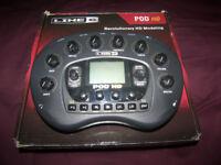 Line 6 POD HD - Desktop Multi-Effects Processor & Amp Emulator for Guitar , Bass and Vocal.