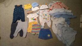 0-1 month bundle – 23 items