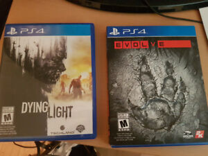 Dying Light and Evolve PS4