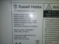 A russell hobbs microwave