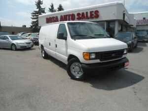 2006 Ford Econoline CARGO AUTO A/C NO RUST SAFETY ETEST POWER W