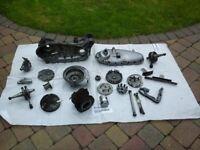 Lambretta Innocenti LI150 Engine Casing/Cover + parts ALL in V.G.C.