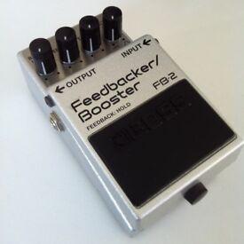 boss fb-2 feedback/booster