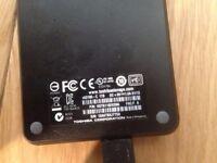 Toshiba 1TB external hard drive – USB3 – fully working