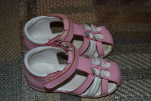 No Angel toddler girl leather sandals